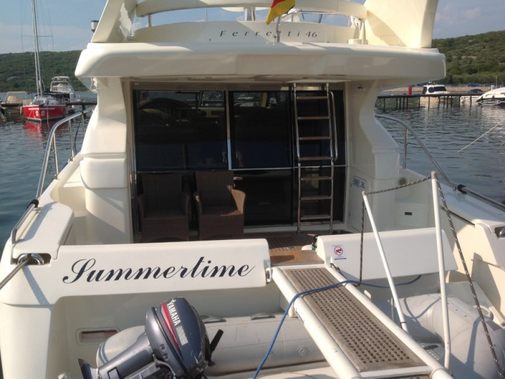 Rental yacht Krk - Ferreti Ferretti 460 on SamBoat
