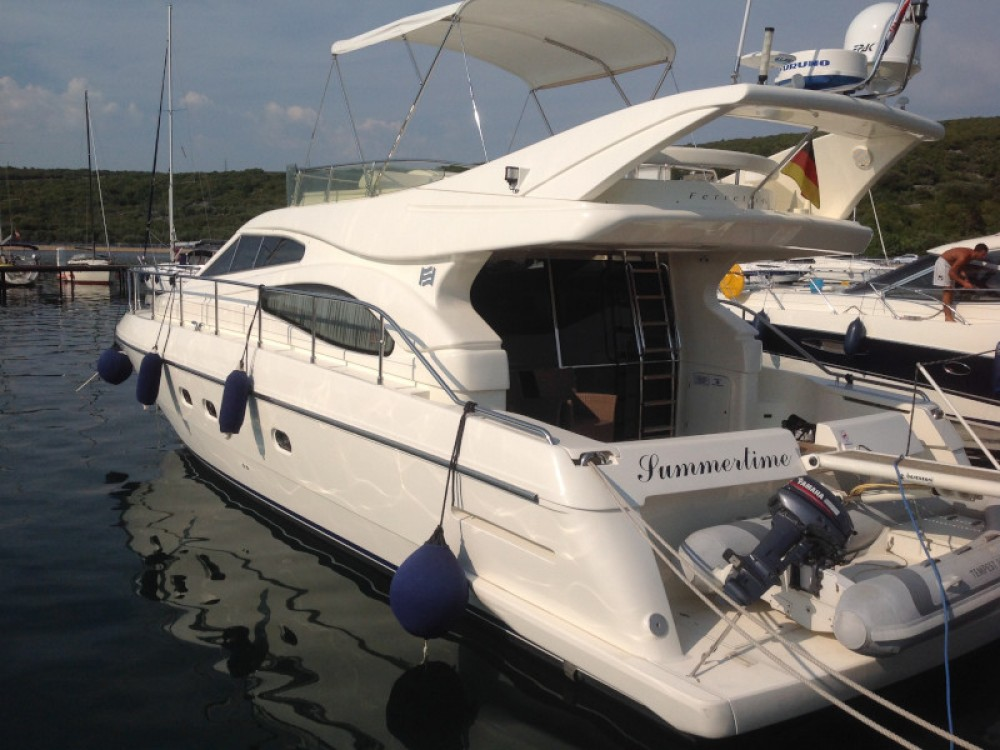 Rental Motor boat in Krk - Ferreti Ferretti 460