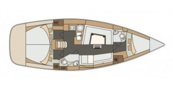 Boat rental Alimos cheap Impression 40