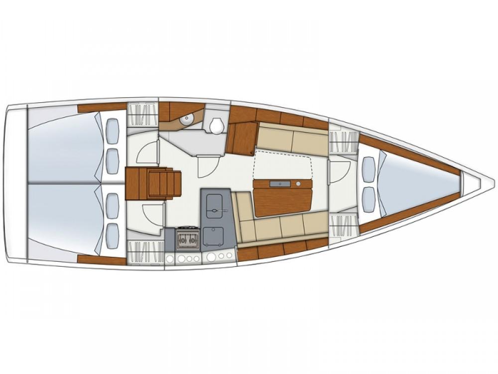 Boat rental Alimos Marina cheap Hanse 345
