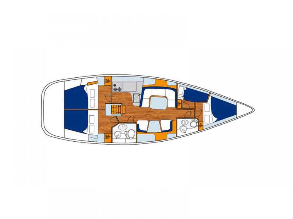 Rent a Jeanneau Sun Odyssey 43 Greece