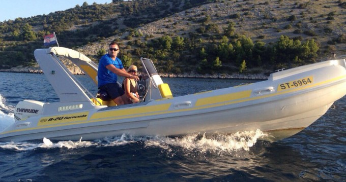 Boat rental Trogir cheap Baracuda 20
