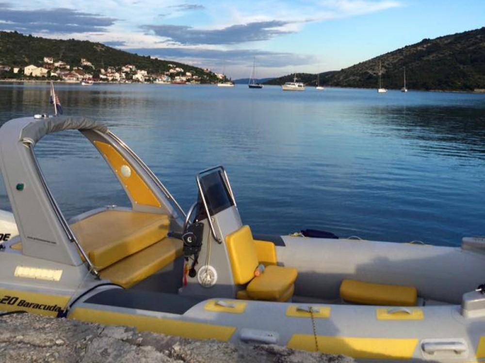 Rental yacht Traù -  Baracuda 20 on SamBoat