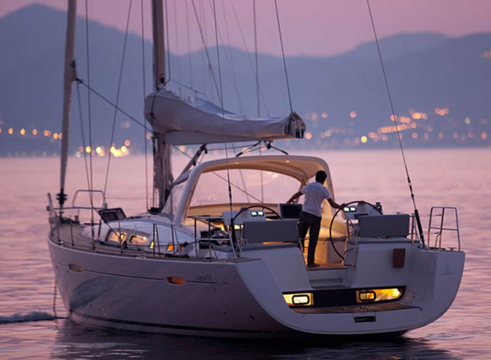 Rent a Bénéteau Oceanis 58 Exclusive Furnari