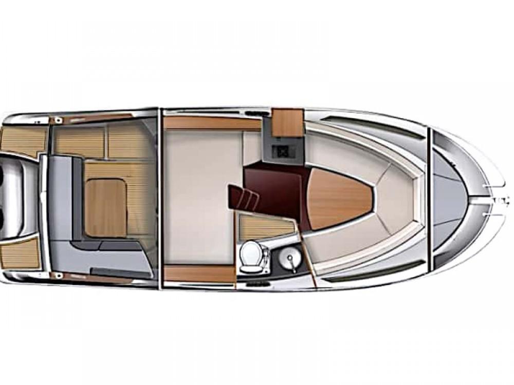 Rental yacht Trogir -  Sun Sport 845 on SamBoat