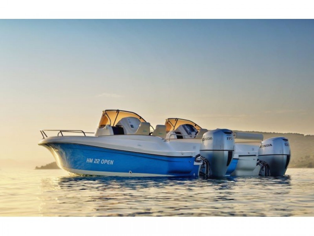 Boat rental Trogir cheap HM 22 Fly OPEN