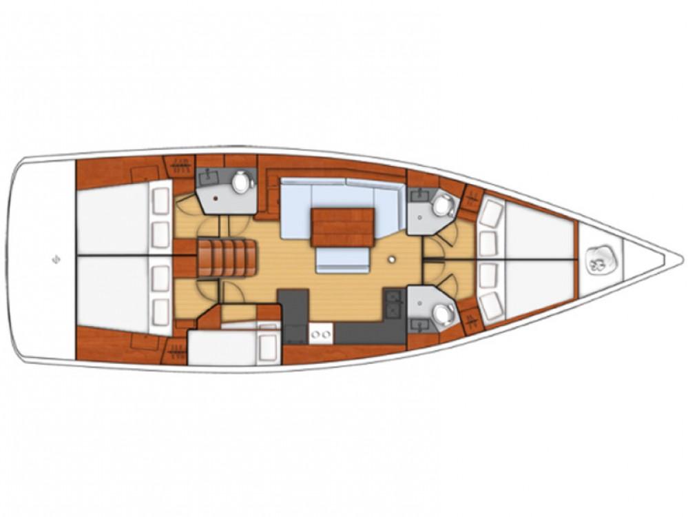 Boat rental  cheap Oceanis 48