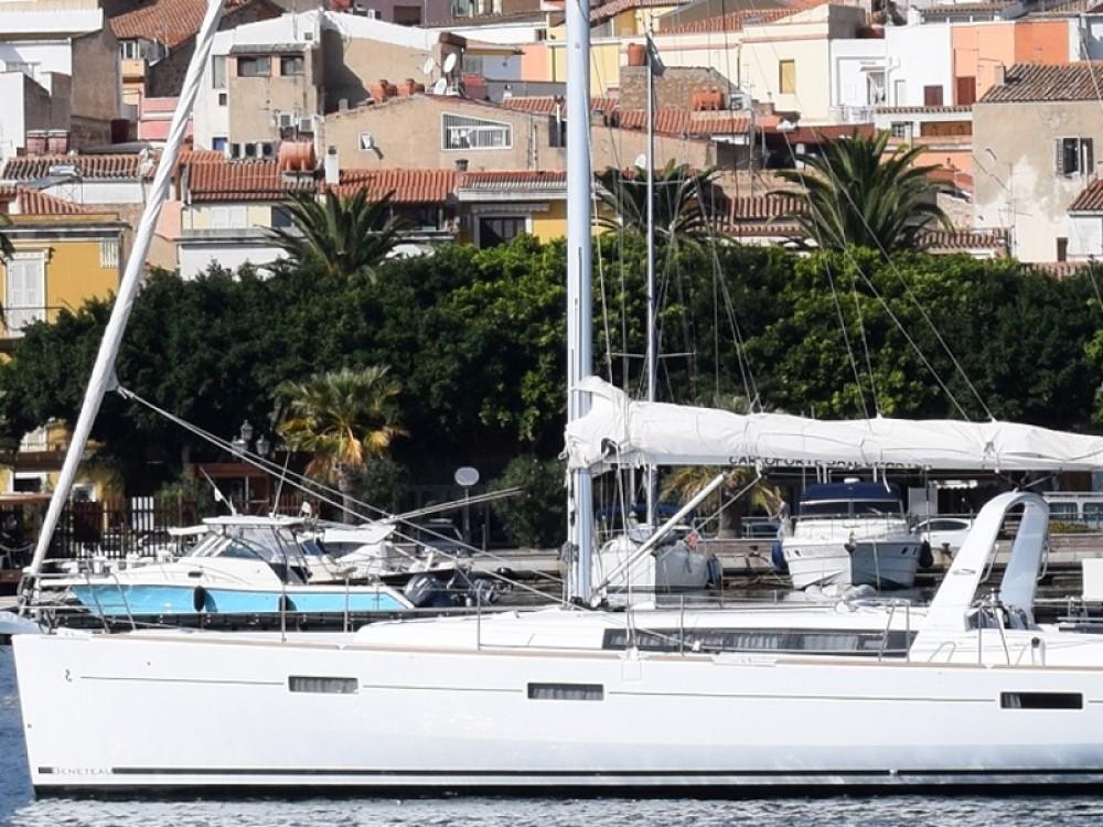 Boat rental U Pàize/Carloforte cheap Oceanis 45