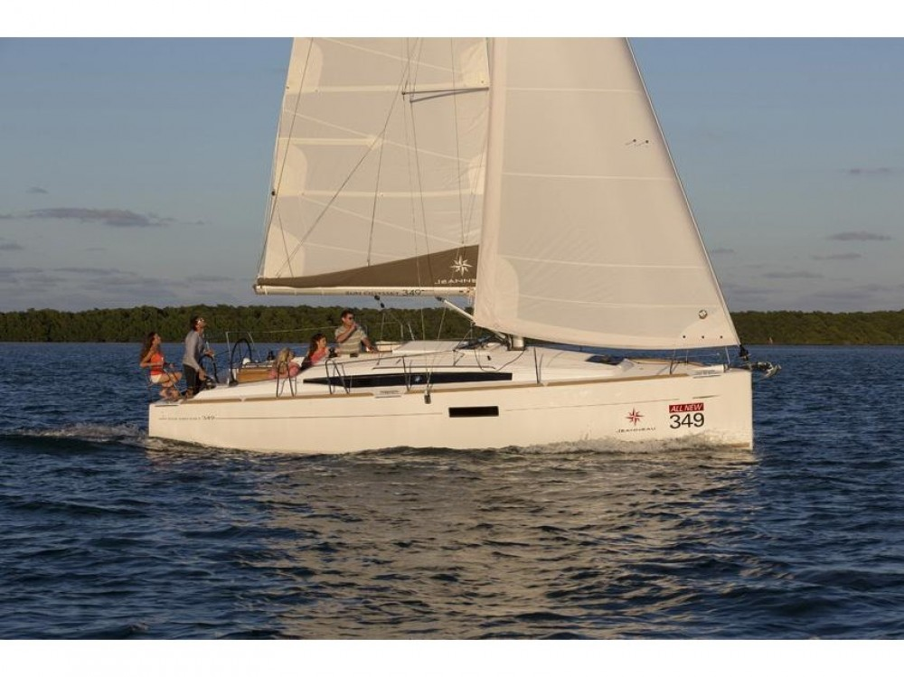 Rental yacht  - Jeanneau Sun Odyssey 349 on SamBoat