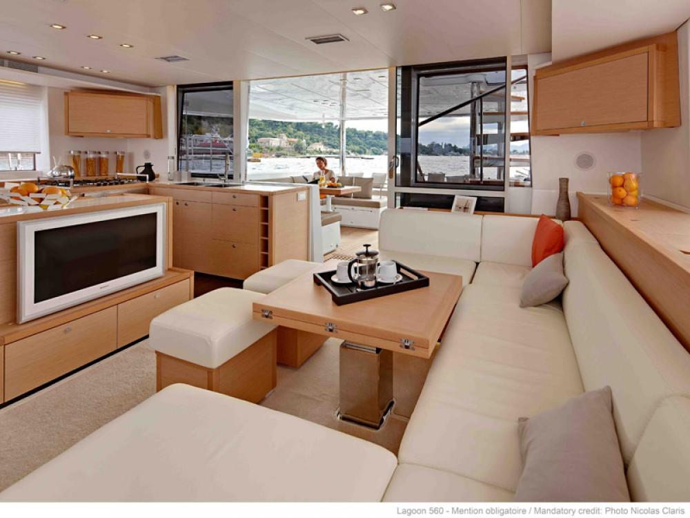 Rental yacht Olbia - Lagoon Lagoon 560 on SamBoat