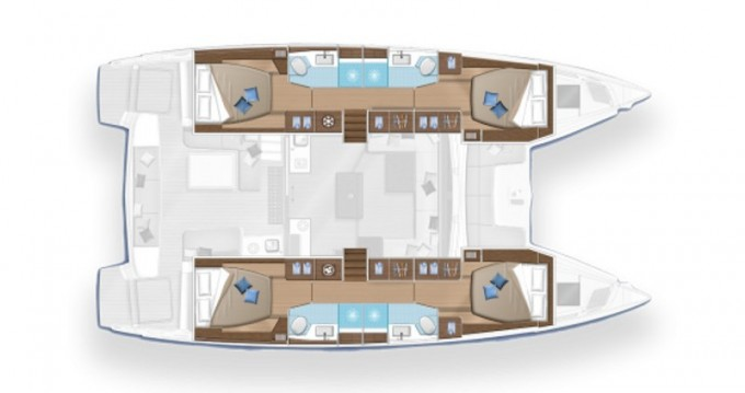Rental Catamaran in Olbia - Lagoon Lagoon 50