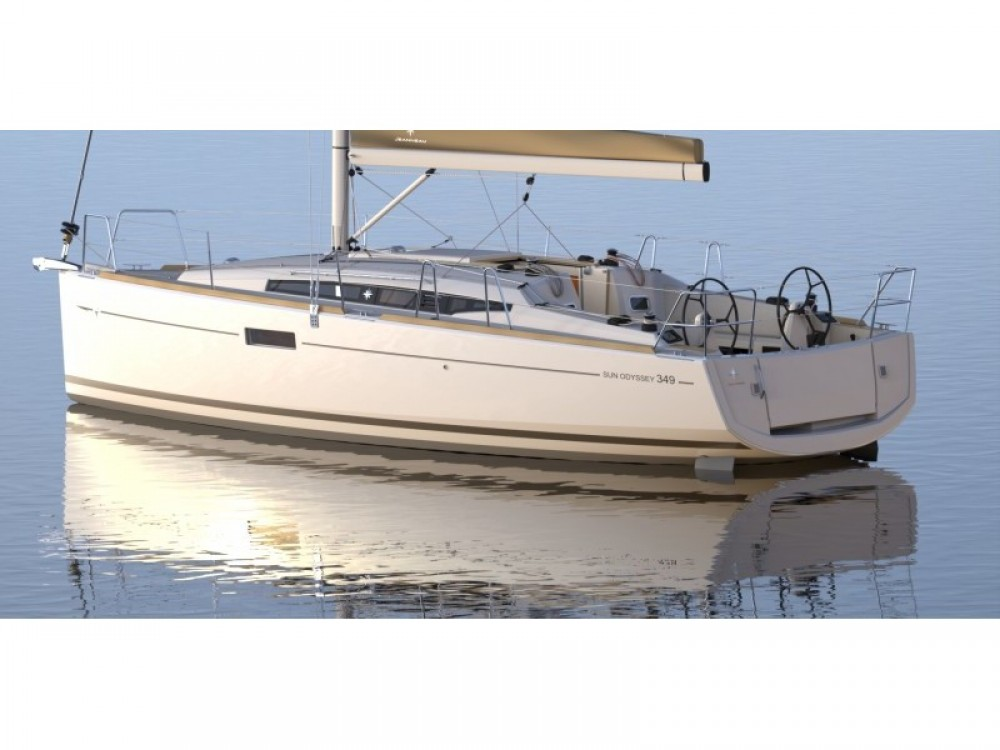 Jeanneau Sun Odyssey 349 between personal and professional Palma