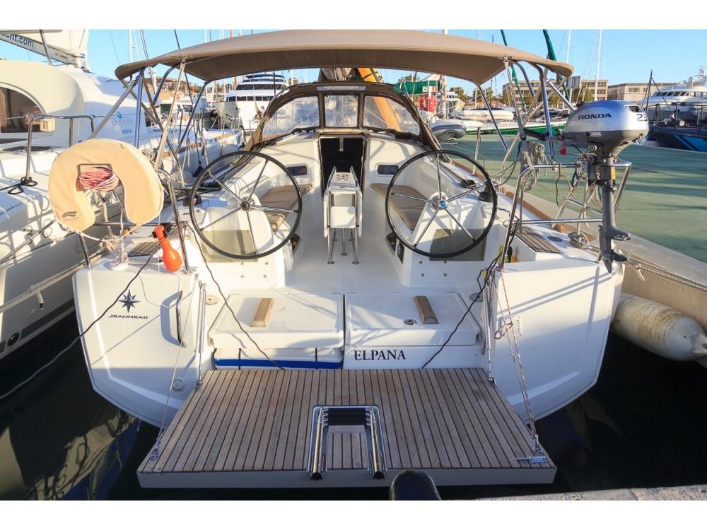 Rental yacht Palma - Jeanneau Sun Odyssey 349 on SamBoat
