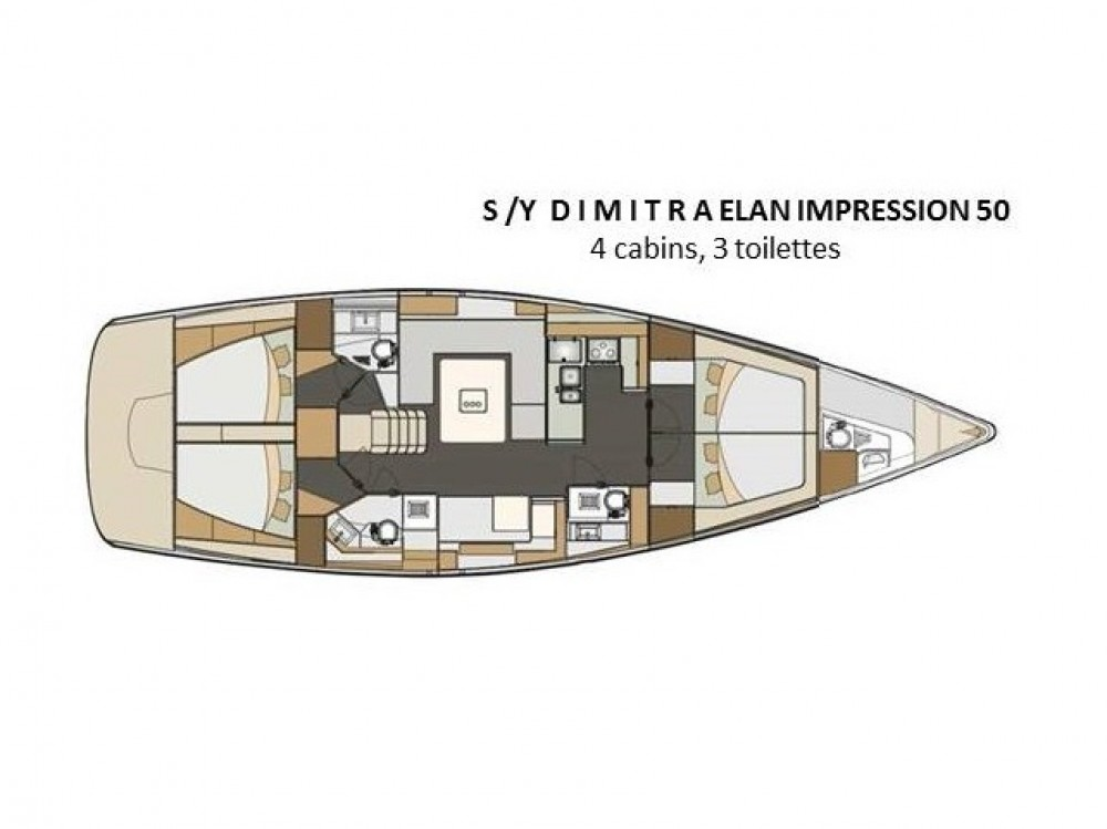 Elan Elan 50 Impression between personal and professional Alimos Marina