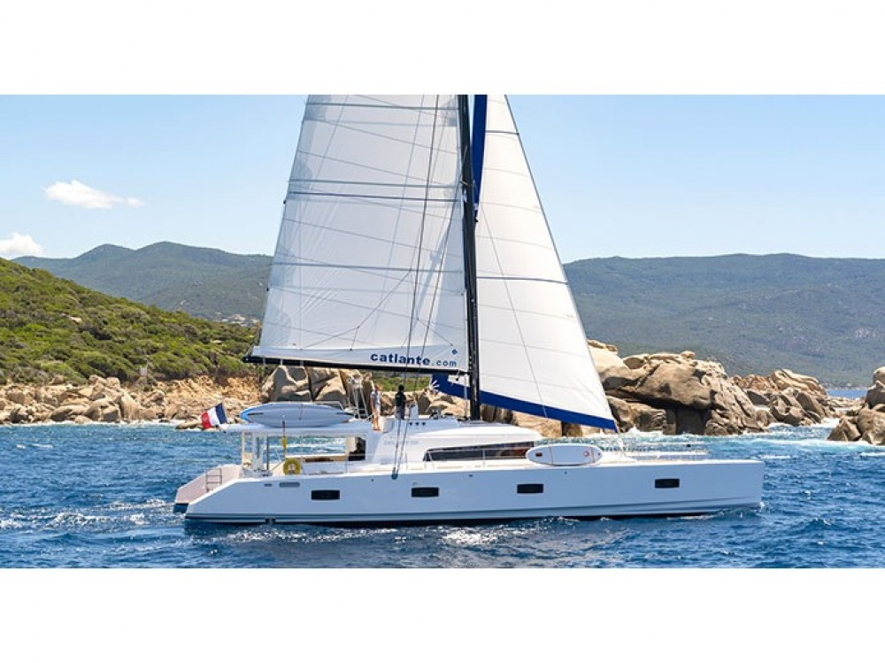Rent a Catlante Catlante 720 - incl. crew & full board Victoria