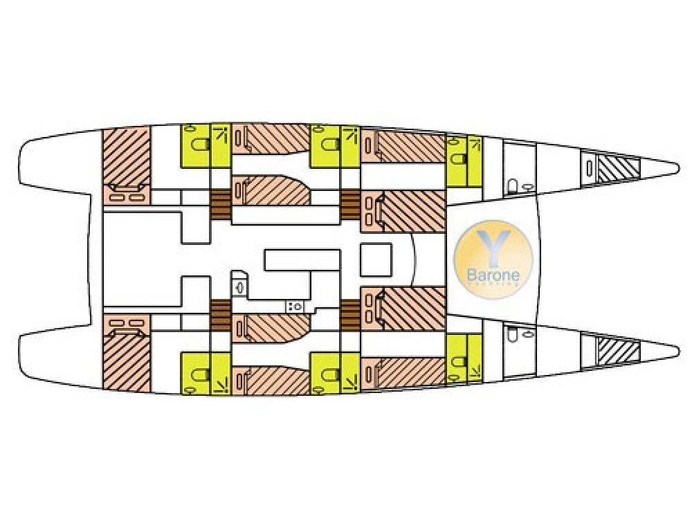 Boat rental Victoria cheap Catlante 720 - incl. crew & full board