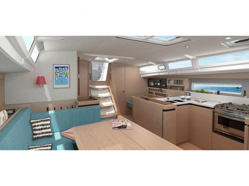 Boat rental Álimos cheap Sun Odyssey 490 (5 cab/3 wc)