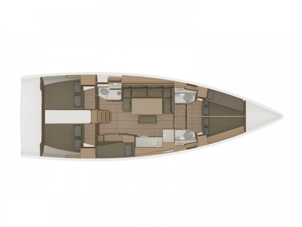 Boat rental Alimos Marina cheap Dufour 460 Grand Large (5cab/3wc)
