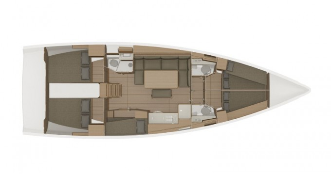 Boat rental Athens cheap Dufour 460 Grand Large (5cab/3wc)