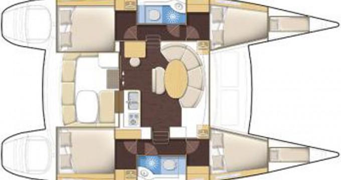 Rental yacht Athens - Lagoon Lagoon 380 S2 on SamBoat