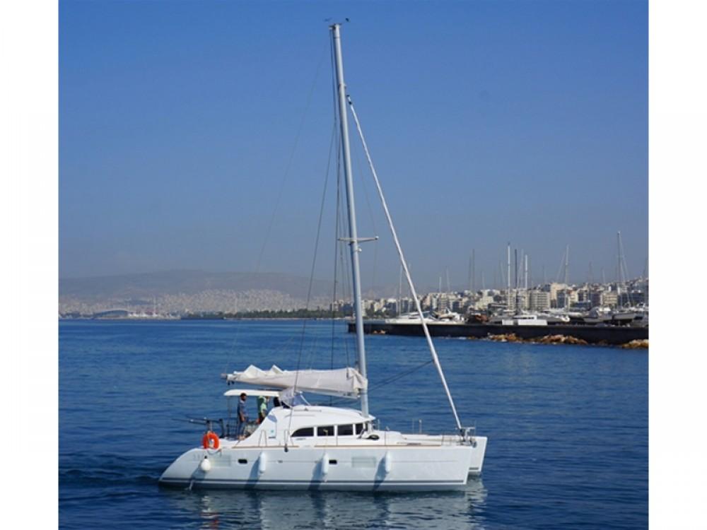 Rental Catamaran in Alimos Marina - Lagoon Lagoon 380 S2