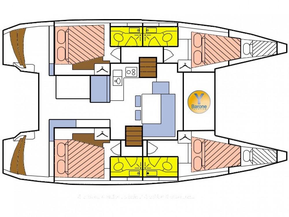 Rental yacht Victoria - Lagoon Lagoon 40 on SamBoat