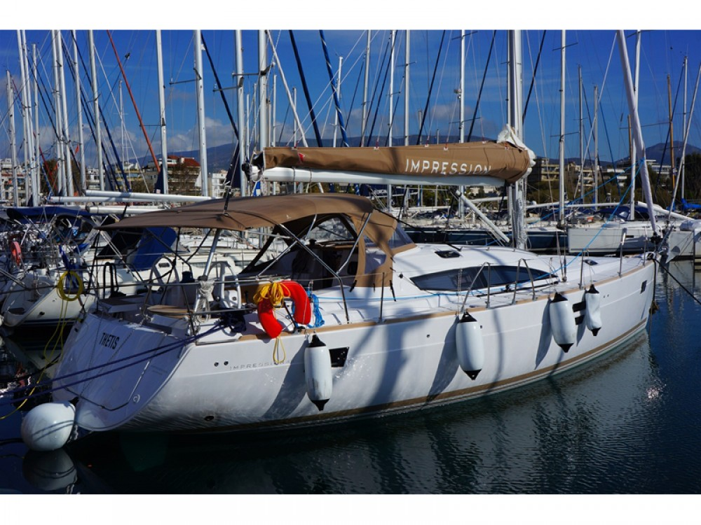 Hire Sailboat with or without skipper Elan Alimos Marina