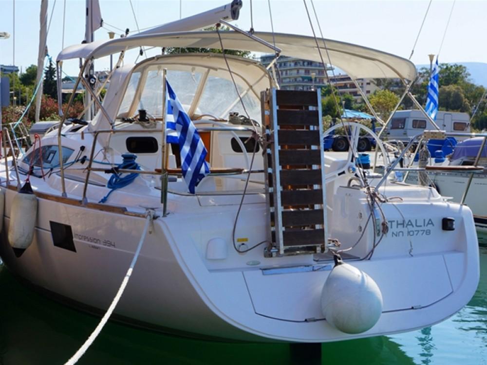 Boat rental Alimos Marina cheap Elan 394 impression