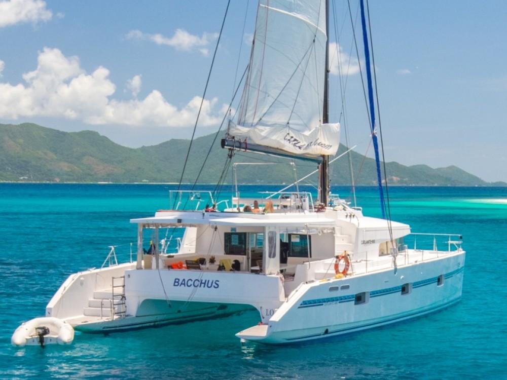 Boat rental Victoria cheap Catlante 600 - incl. crew & full board