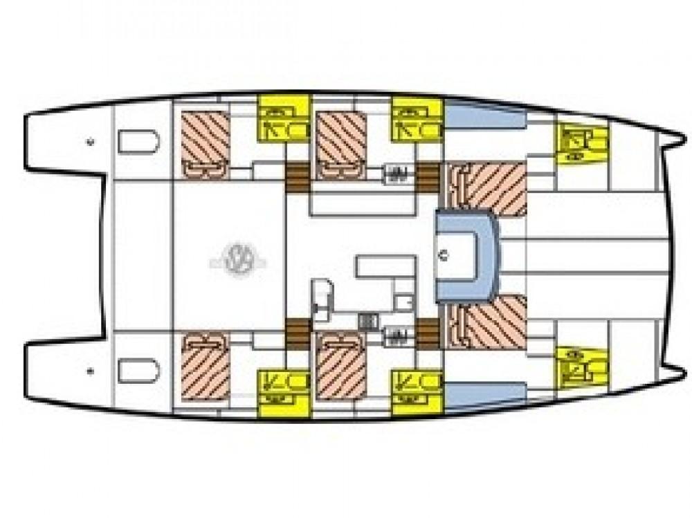 Rent a Catlante Catlante 600 - incl. crew & full board Victoria