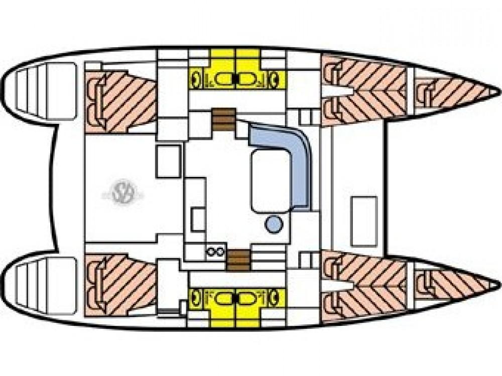 Rental Catamaran in  - Lagoon Lagoon 400 S2