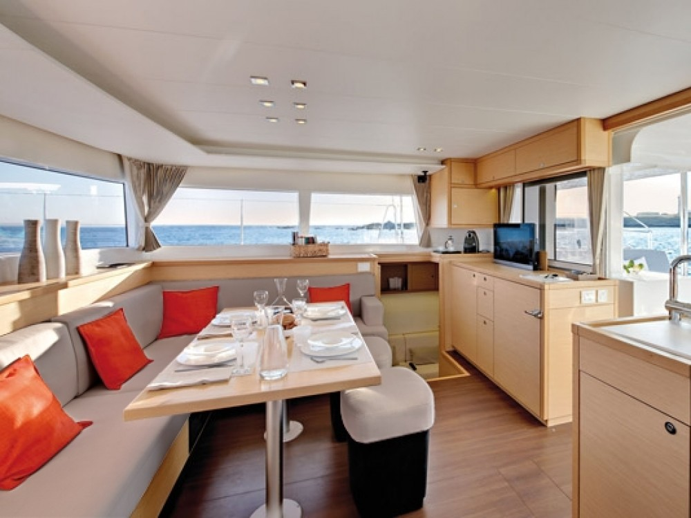 Boat rental Grand Case cheap Lagoon 450 Sportop