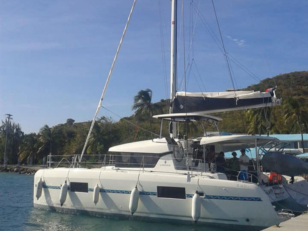 Catamaran for rent Grand Case at the best price