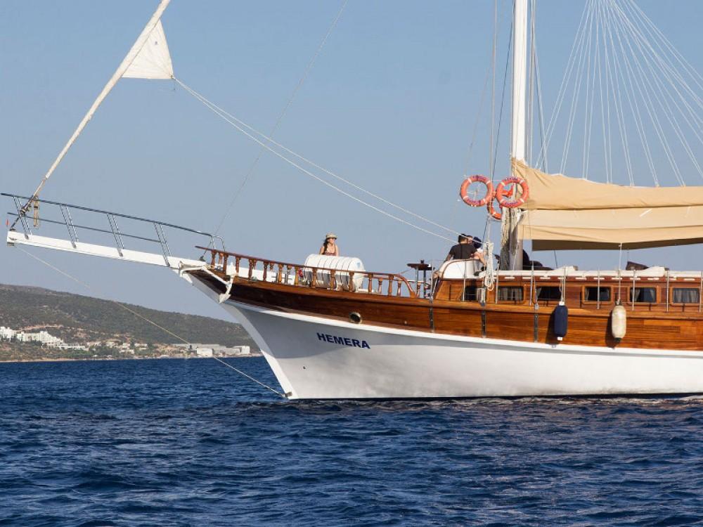 Rent a  Gulet Hemera Greece