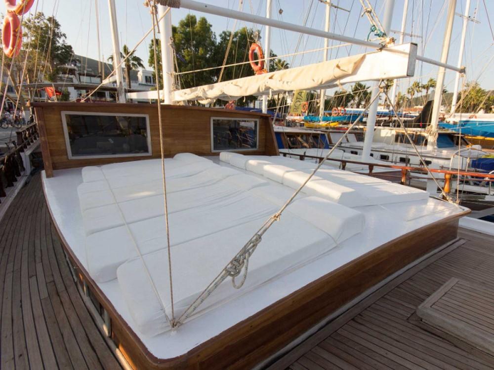 Boat rental Zakynthos cheap Gulet Harmonia