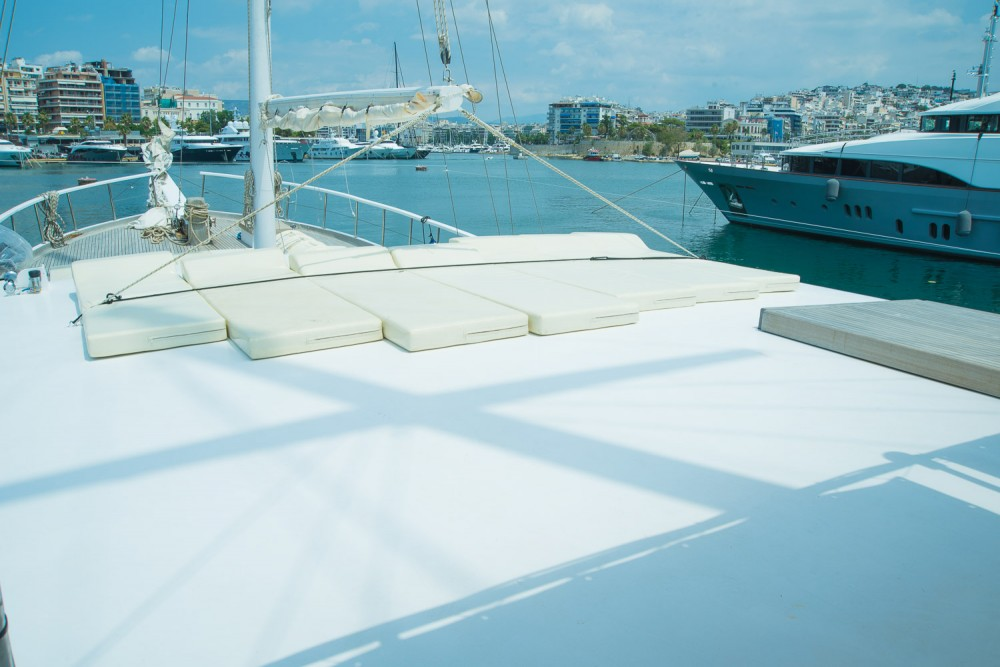 Gulet Aphrodite between personal and professional Alimos Marina
