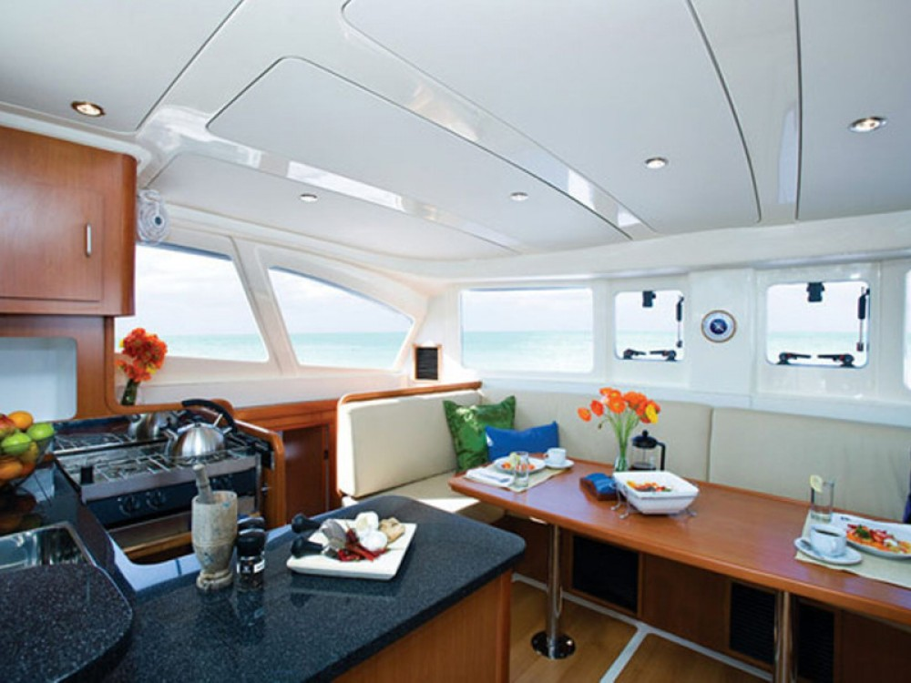 Hire Catamaran with or without skipper Leopard Nikiti