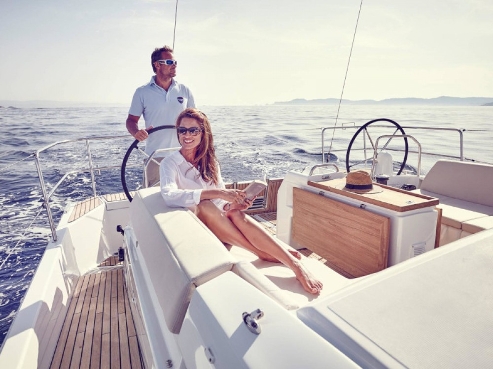Jeanneau Sun Odyssey 440 between personal and professional