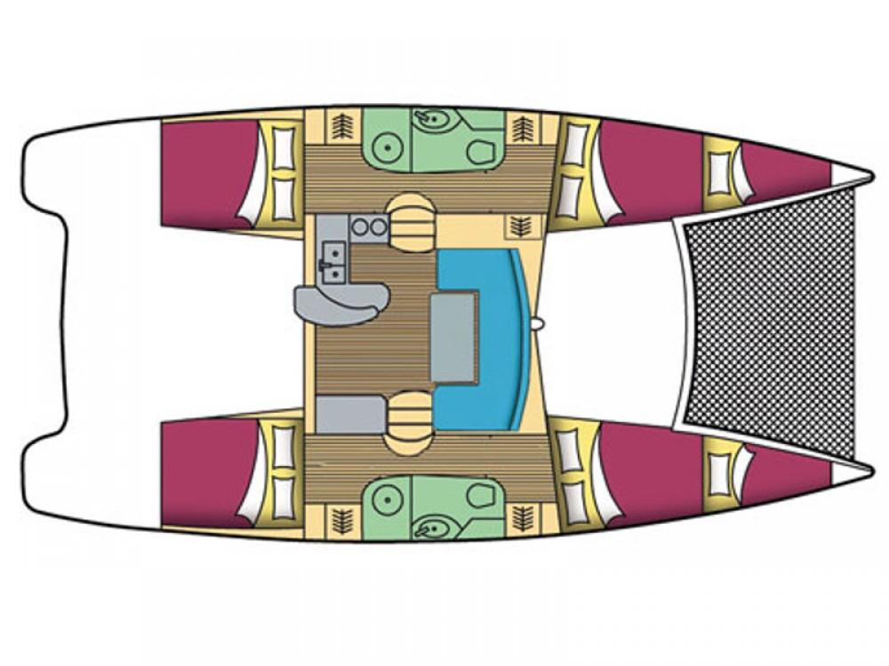 Rental yacht Nikiti - Leopard Leopard 384 on SamBoat