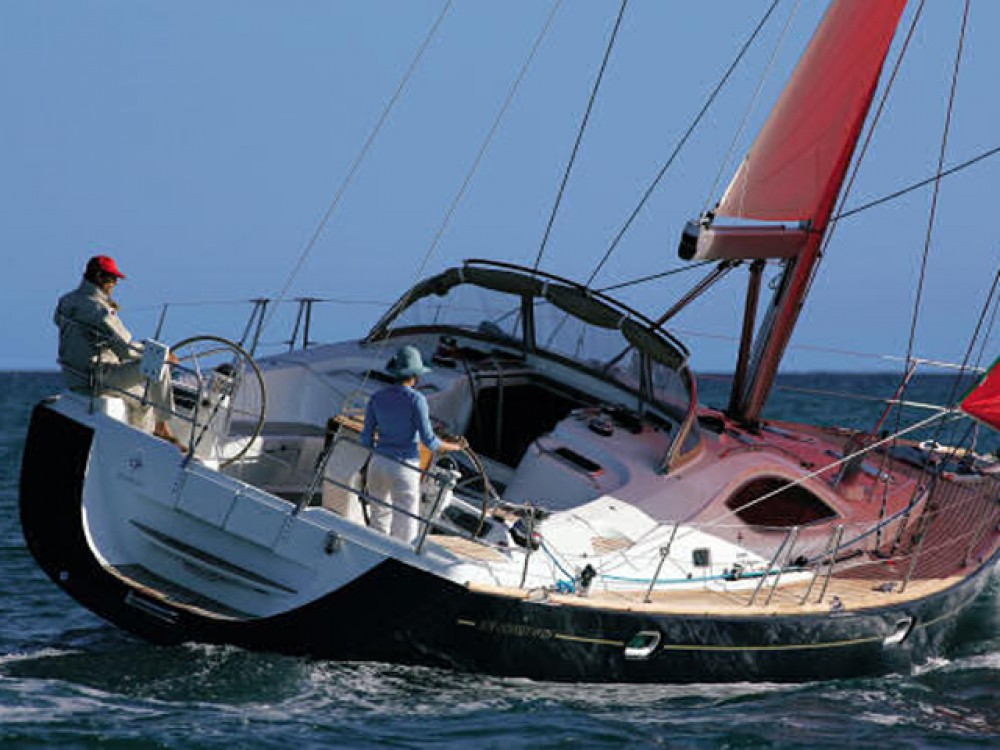 Jeanneau Sun Odyssey 49DS between personal and professional Alimos Marina