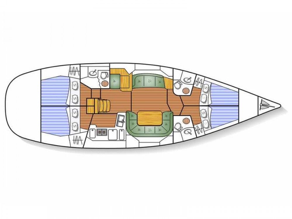 Jeanneau Sun Odyssey 49DS between personal and professional