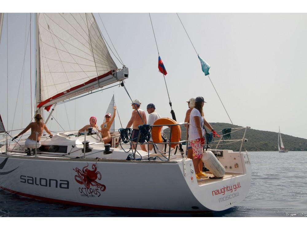 Boat rental Marmaris cheap Salona 41 Performance