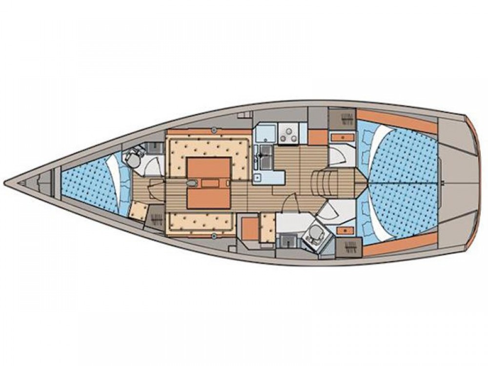 Hire Sailboat with or without skipper Elan ACI Marina Skradin