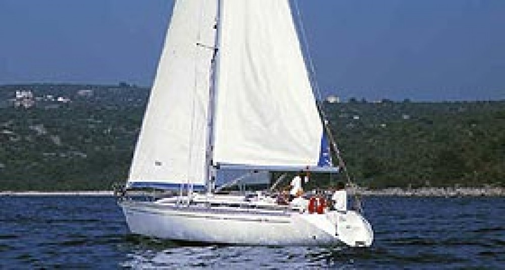 Boat rental Porto San Rocco cheap Elan 38