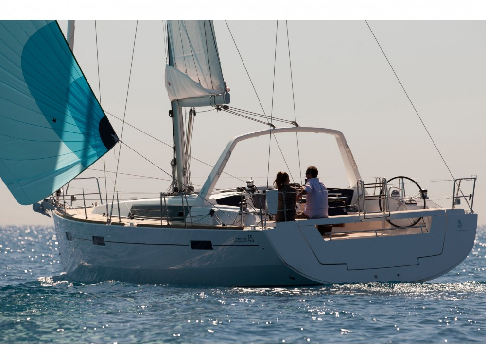 Boat rental La Spezia cheap Oceanis 45
