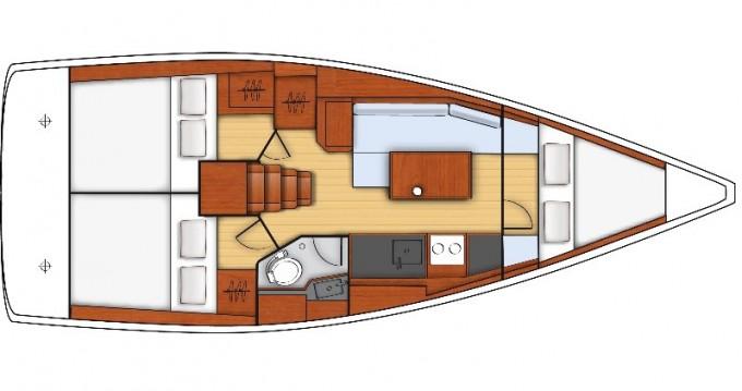 Rental Sailboat in Bocca di Magra - Bénéteau Oceanis 35