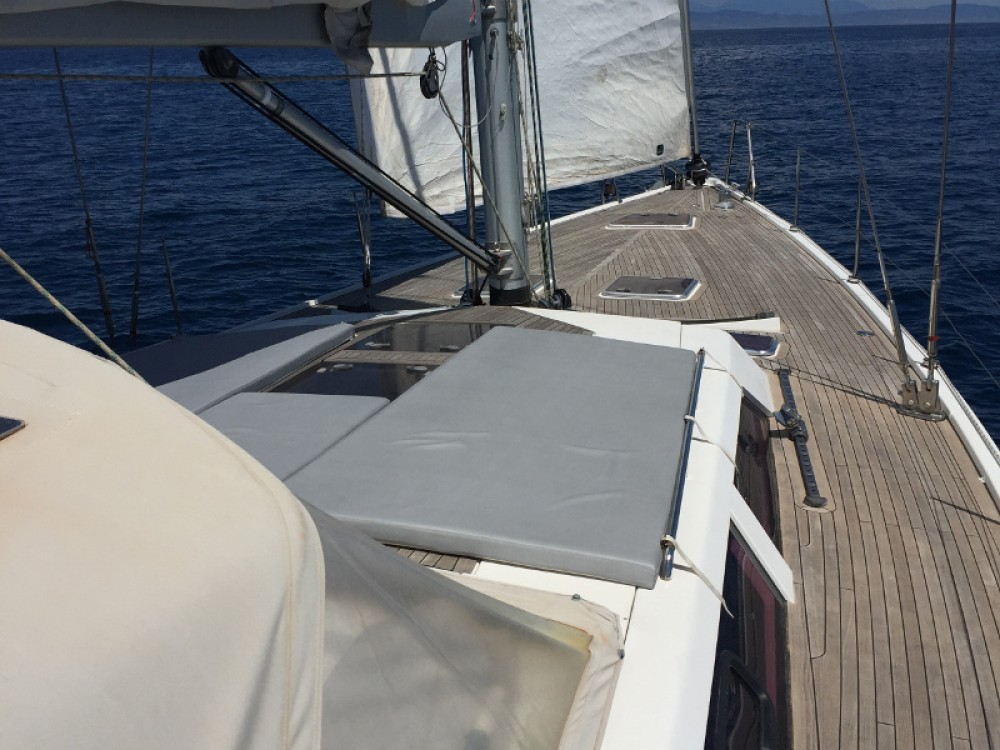 Boat rental Hanse Hanse 540e in Marina Santa Eulalia on Samboat