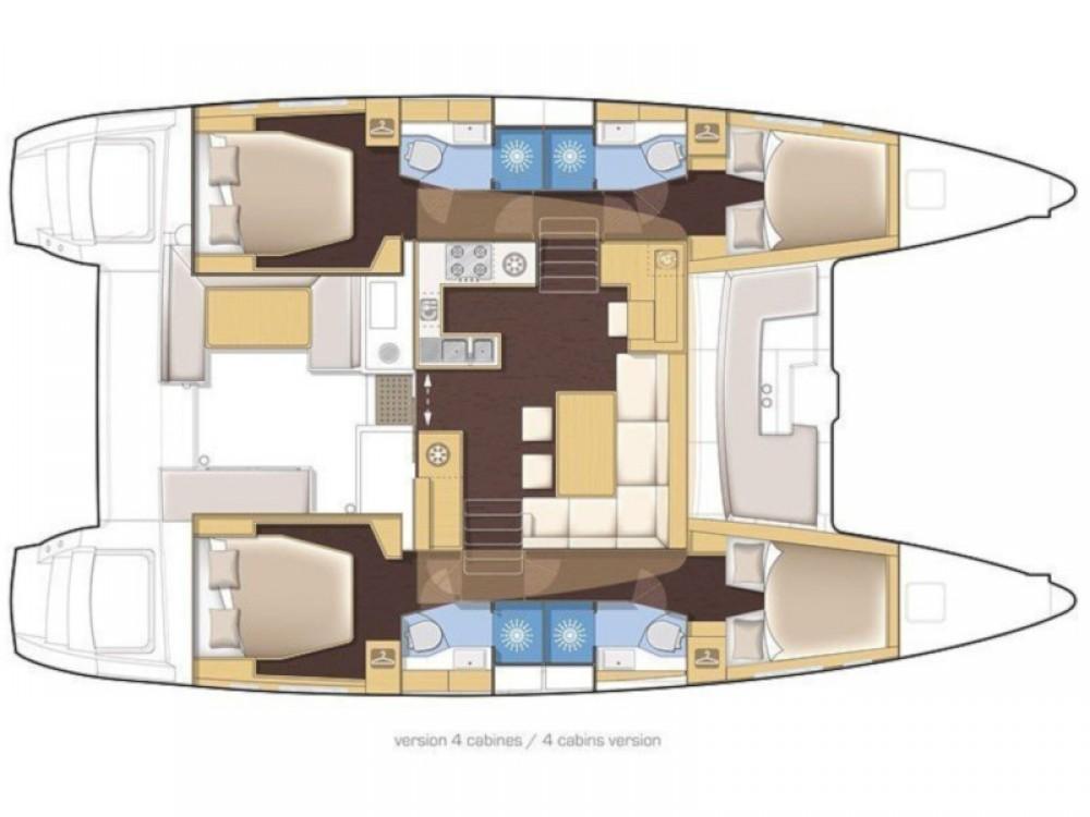 Rental yacht Kontokali - Lagoon Lagoon 450 Sport on SamBoat