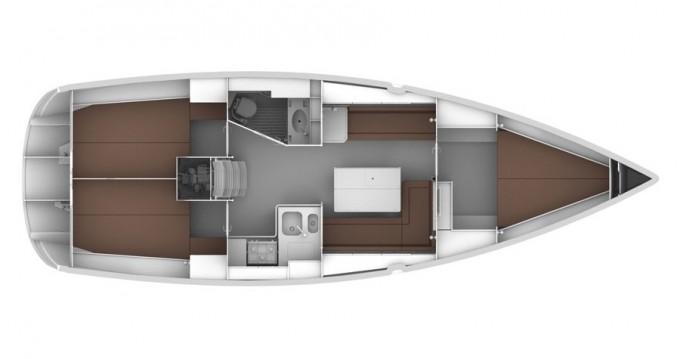 Rental Sailboat in Gouvia - Bavaria Cruiser 36