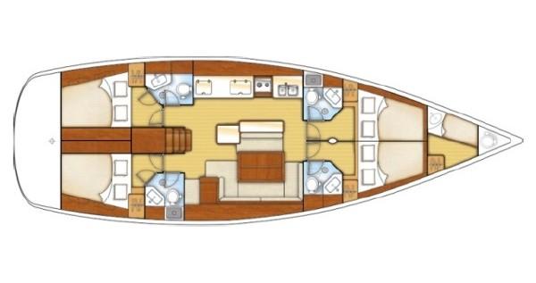 Rental yacht Marmaris - Bénéteau Oceanis 50 on SamBoat